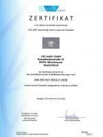 DVS ZERT Zertifikat ISO 3834_DE